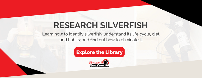 Pest library explore silverfish