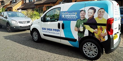 Discreet animal removal with a van